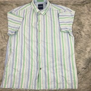 Tommy Bahama Men's Casual Short Sleeve Button Up